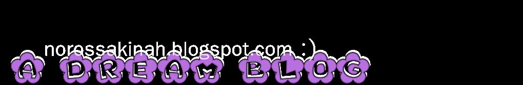A Dream Blog