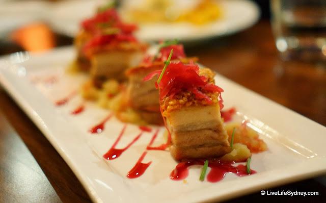 Subsolo Spanish Restaurant Sydney Pork Belly