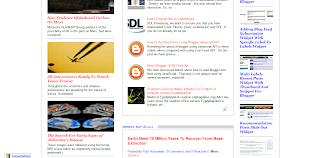 example of recent posts widget multifunction