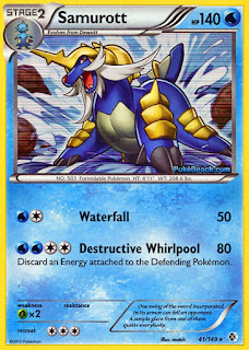 Samurott Boundaries Crossed Pokemon Card