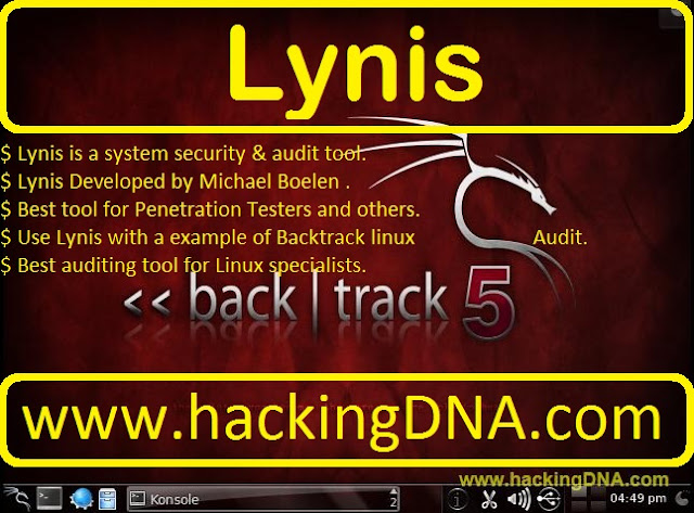 Lynis on Backtrack 5
