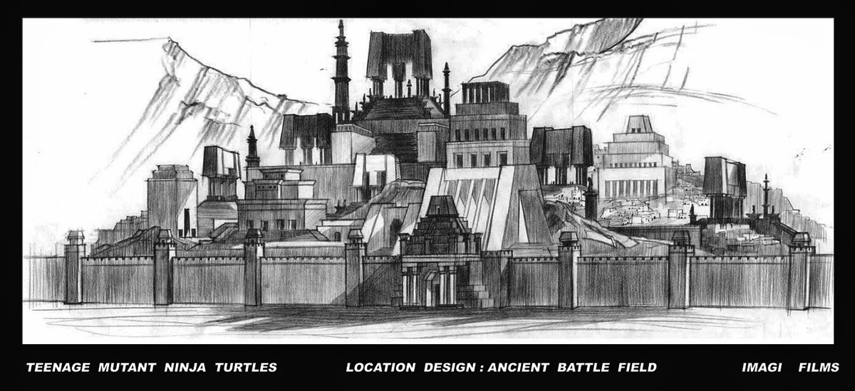 TMNT  Ancient City  Design/Layout