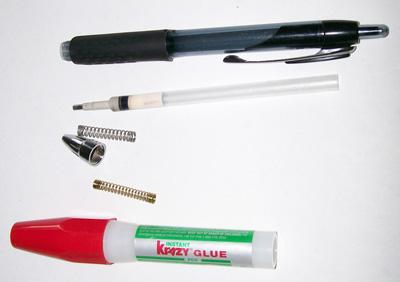 Parts Of A Ballpoint Pen3