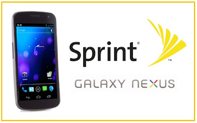 Sprint Galaxy Nexus Android 4
