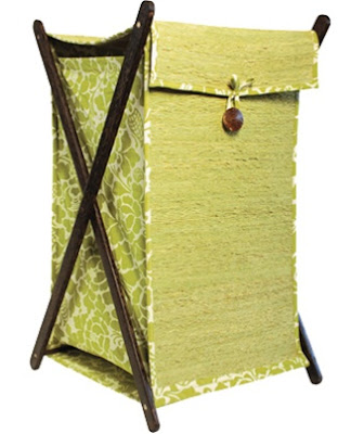 laundry basket from Vetiver root