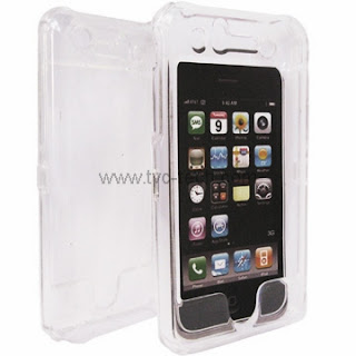 Transparent Clear Crystal Case for iPhone 3G 3Gs