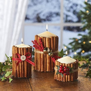 Merry Christmas Candle Crafts Ideas for Kids Children 2015