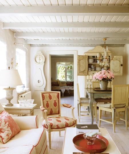 Twc julio 2013 for Romantic homes decorating