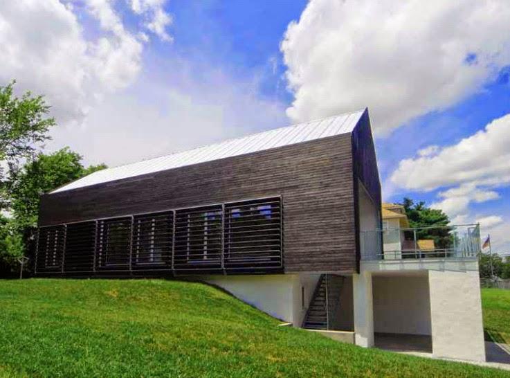 desain eksterior model rumah minimalis modern prescott house