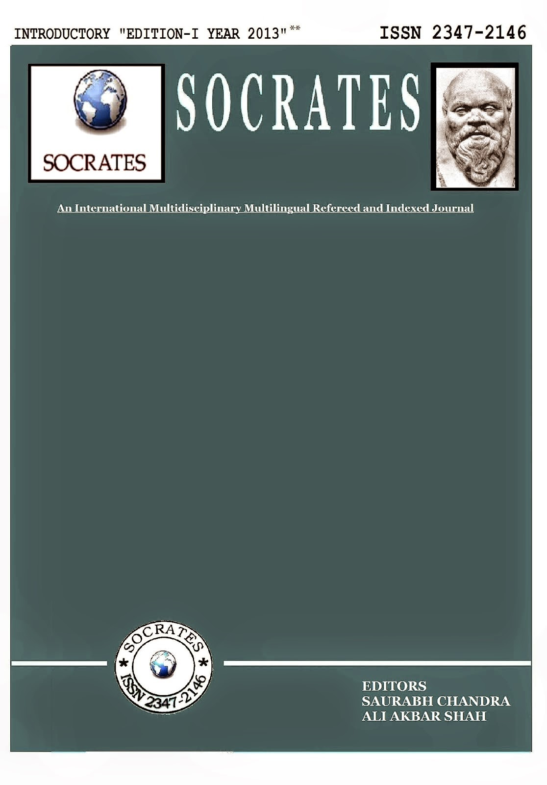 SOCRATES EDITION - I YEAR 2013 ON GOOGLE BOOKS