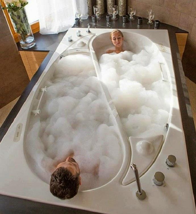 Los 10 Mejores Diseños de Bañeras para Dos