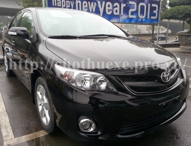 Cho thuê xe Toyota Altis 4 chỗ giá rẻ