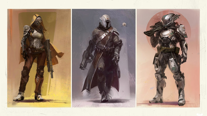 Destiny Guardians Art