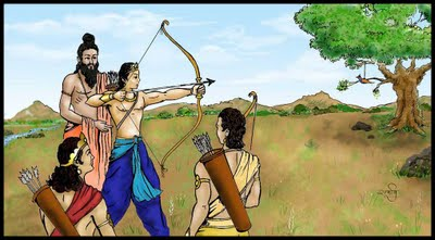 relationship between dronacharya and eklavya movie