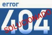 error 404 solucionado