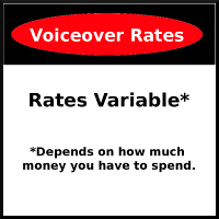 Mock Rates Sign
