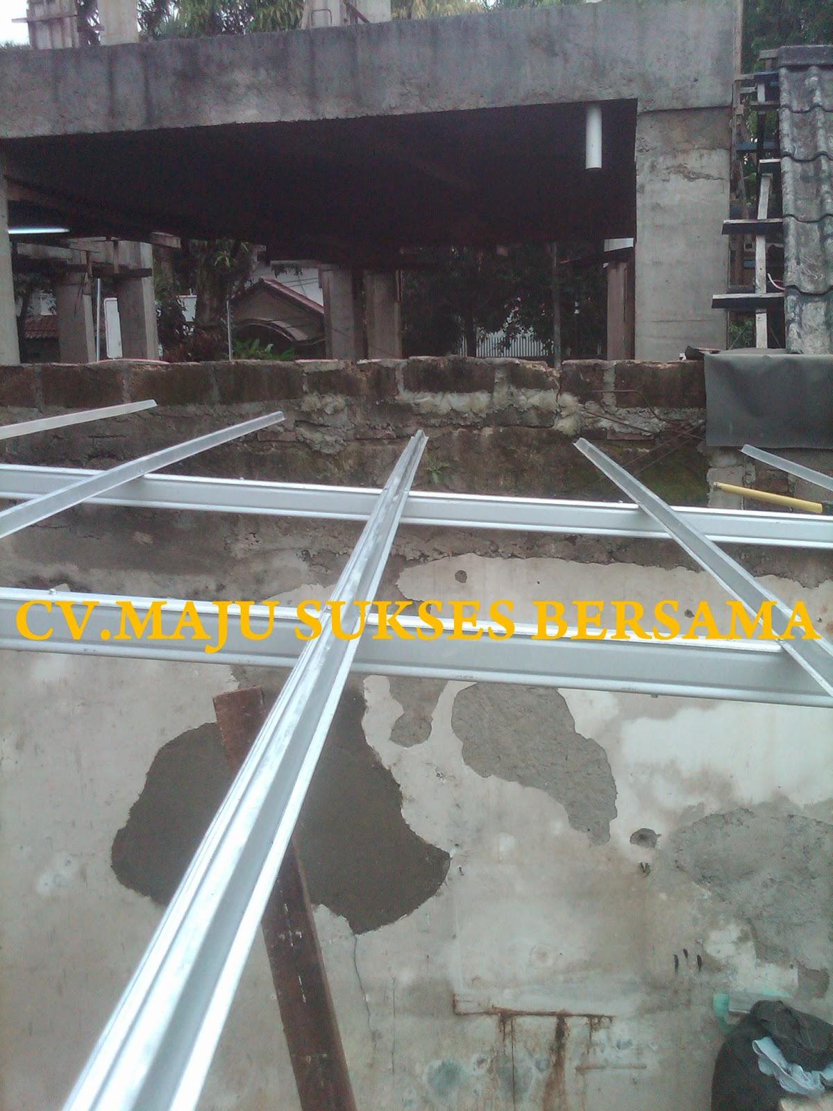 Atap Asbes Menggunakan Rangka Baja Ringan
