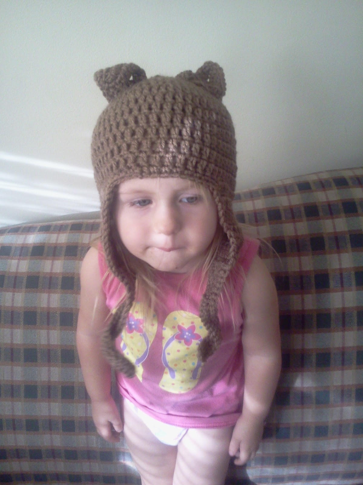 StormFly Crafts: Crochet Hat With Ears