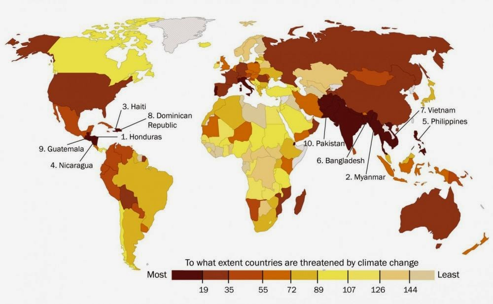 Effetti dei cambiamenti climatici - Global Climate Risk Index