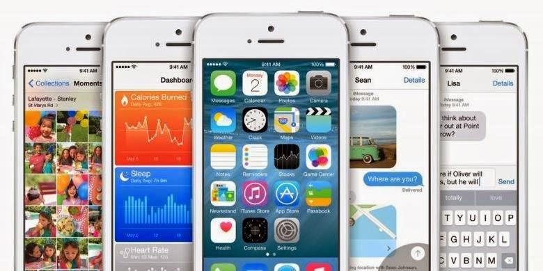 Antarmuka sistem operasi Apple iOS 8