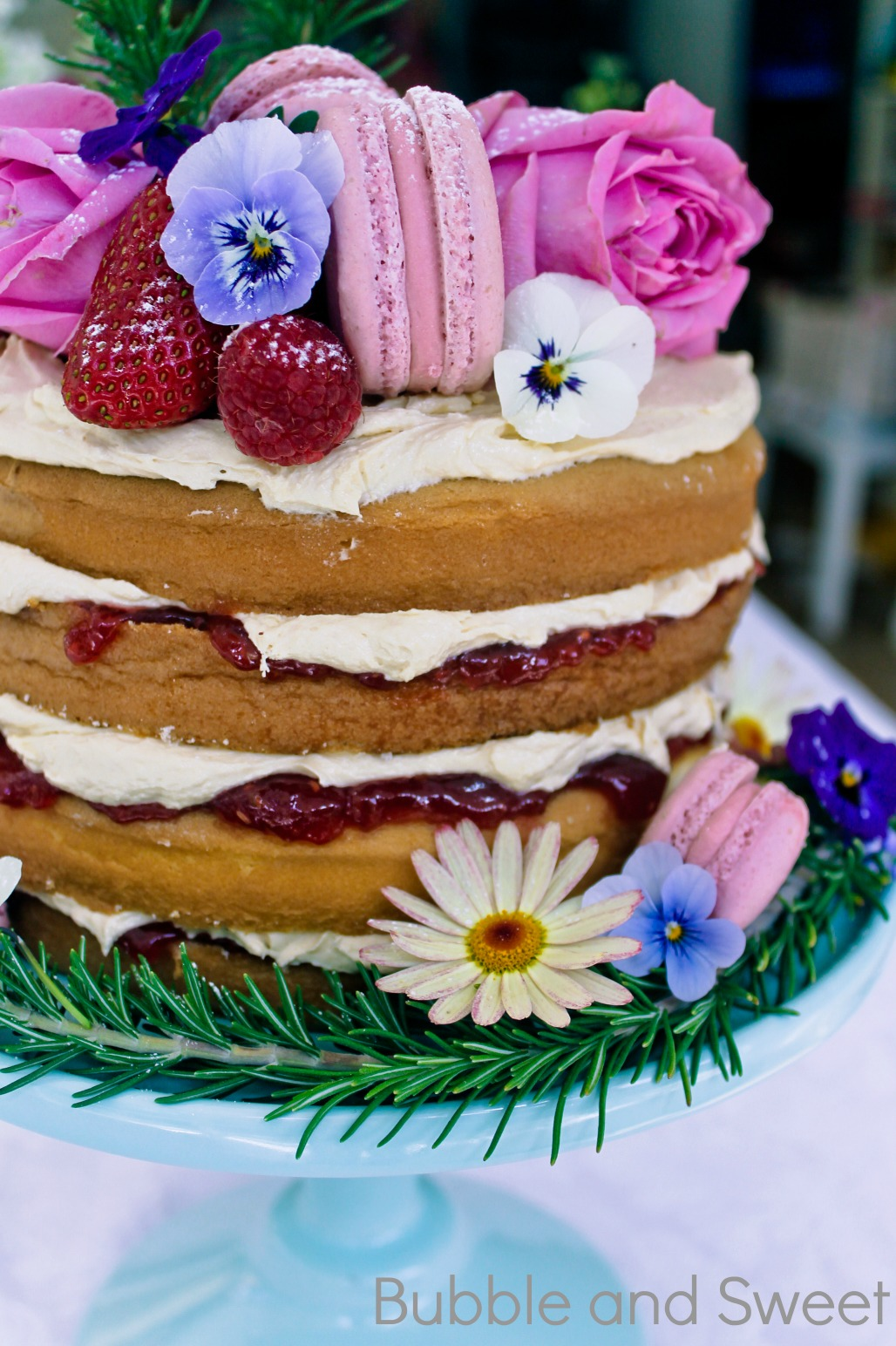 and sweet rustic cake how to