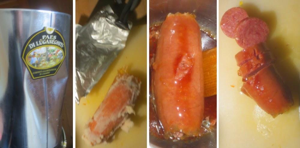 Cotechino der Salumificio Bustese über Ufuud, Zubereitung Cotechino