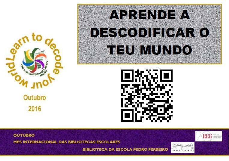 Mês Internacional das Bibliotecas Escolares