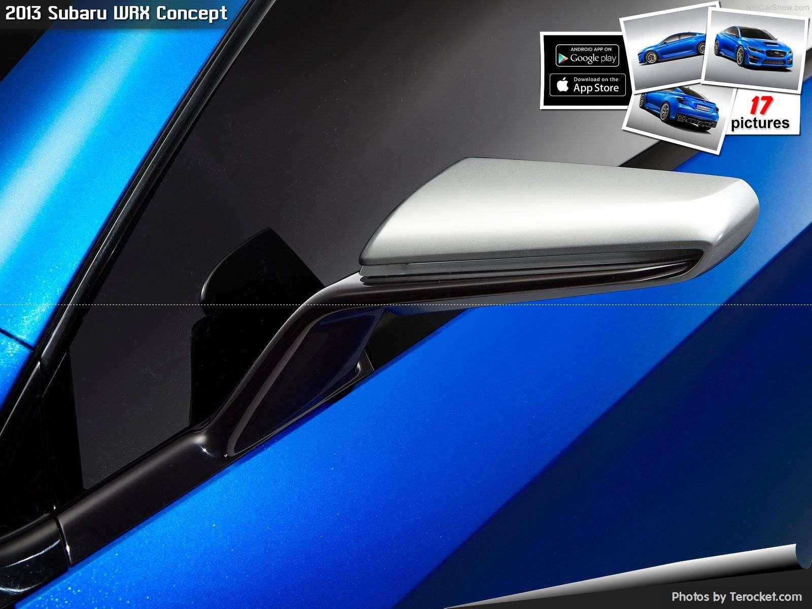 Hình ảnh xe ô tô Subaru WRX Concept 2013 & nội ngoại thất