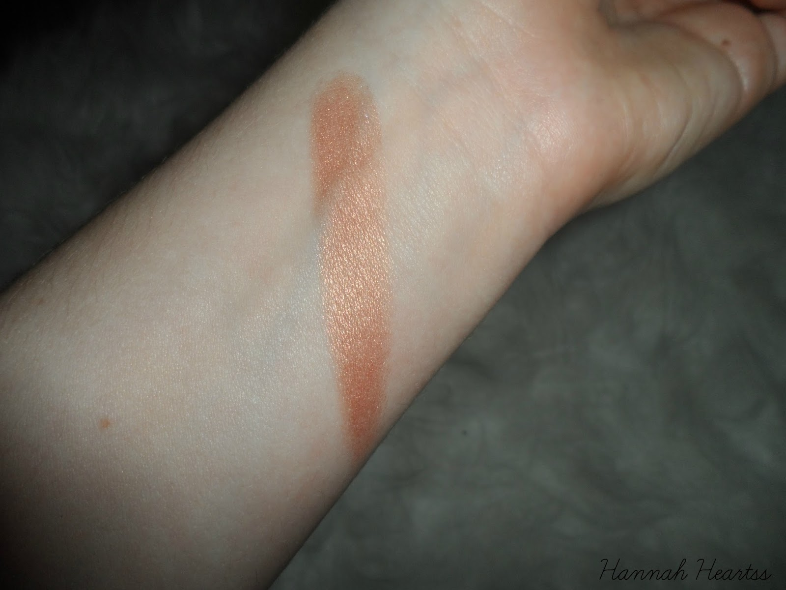 Soap & Glory Peach Party Swatch