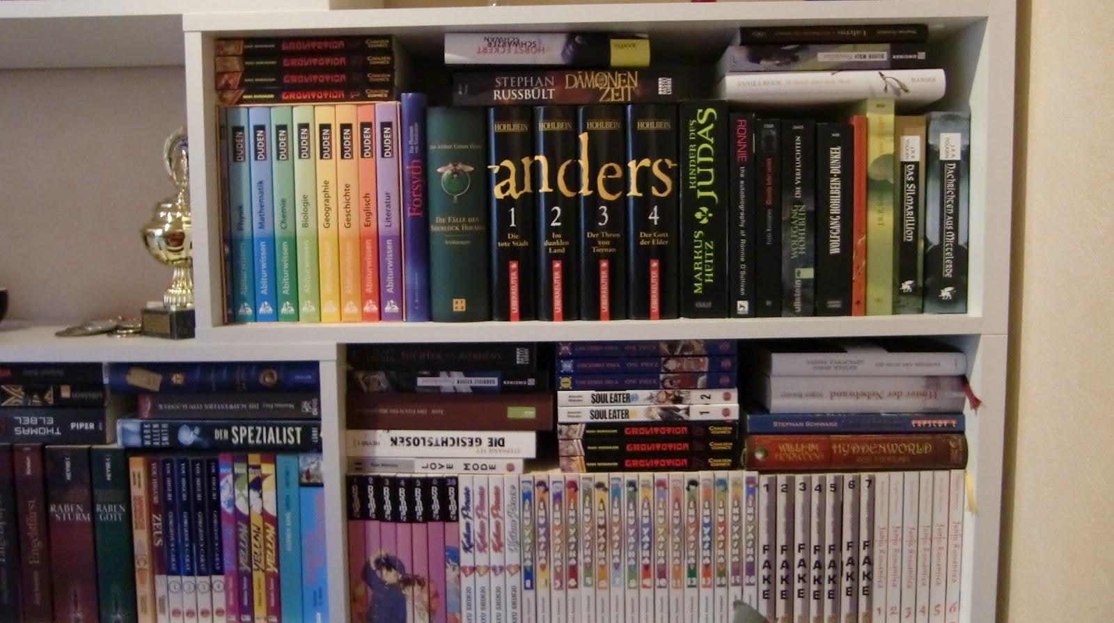 Themis 100.000 Bücher: Meine Bücherregale