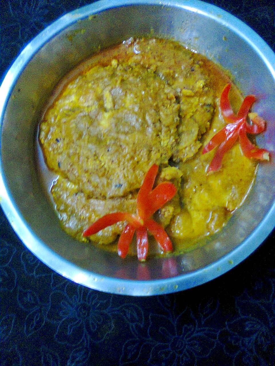 Fish Egg (Roe) Curry / Fish Egg - 252.3KB