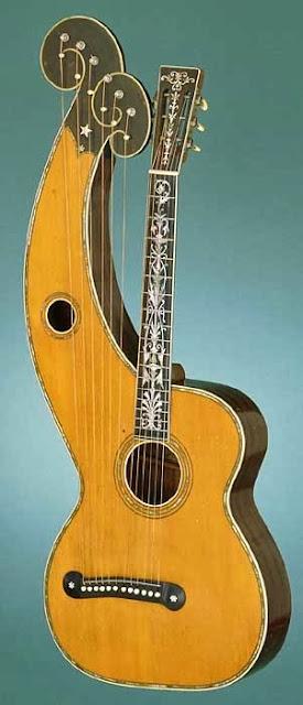 http://en.wikipedia.org/wiki/Harp_guitar