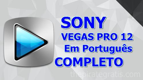 Sony Vegas Pro 12 + Crack Completo via Torrent