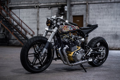 Suzuki GSX 1100 Custom by Ed. Turner