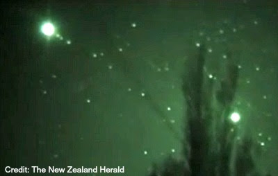 UFOs Over Rotorua , New Zealand 10-29-12