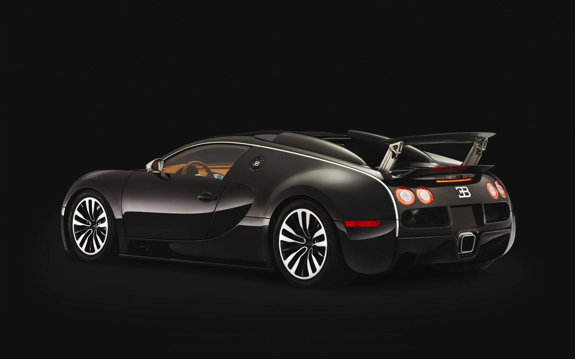 Black Bugatti Veyron | HD Wallpapers