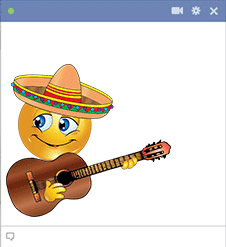 Mariachi Facebook Sticker