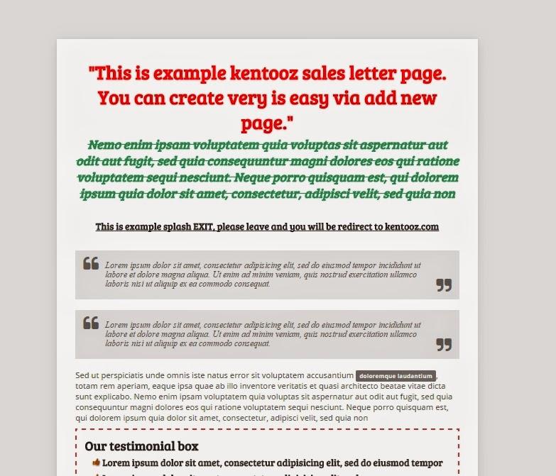 Download Wordpress Theme Untuk Membuat Landing Page Dan Salespage - Sales page template wordpress