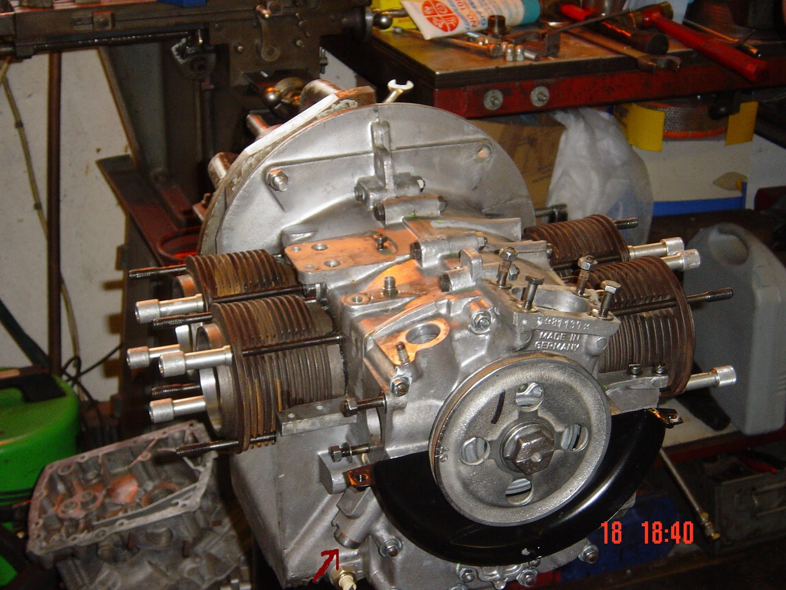 porsche 356 engine build rebuild repair 9 fitting the. Black Bedroom Furniture Sets. Home Design Ideas