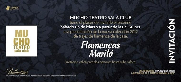 Próximo desfile Flamencas Mariló 2012