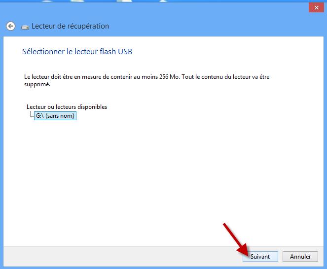 Club Windows 8 Créer une clé USB de récupération Windows 8