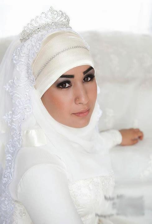 Hijab moderne - Hijab mariée ~ Hijab et voile mode style mariage et ...