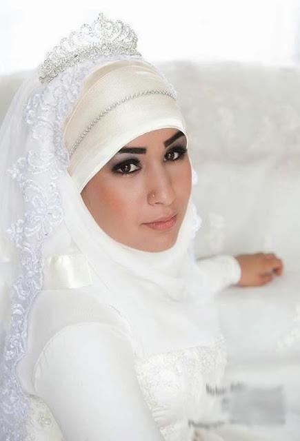 Hijab mariée