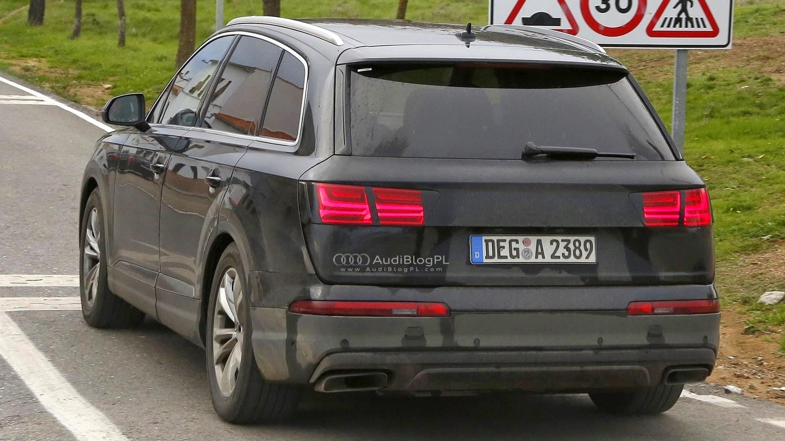 AudiBlogPL: SpyShots: Audi Q7