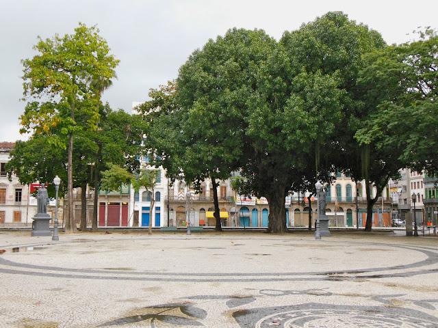Praça Tiradentes (RJ)/Foto: Marcelo Migliaccio