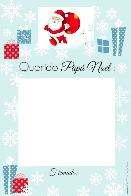 Carta-Papá-Noel-niños-imprimir
