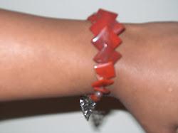 Modesty Square Charm Bracelet