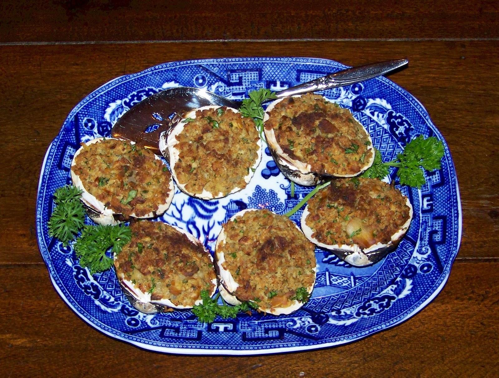 Good Hearty Food: Stuffed Clams (Baked)