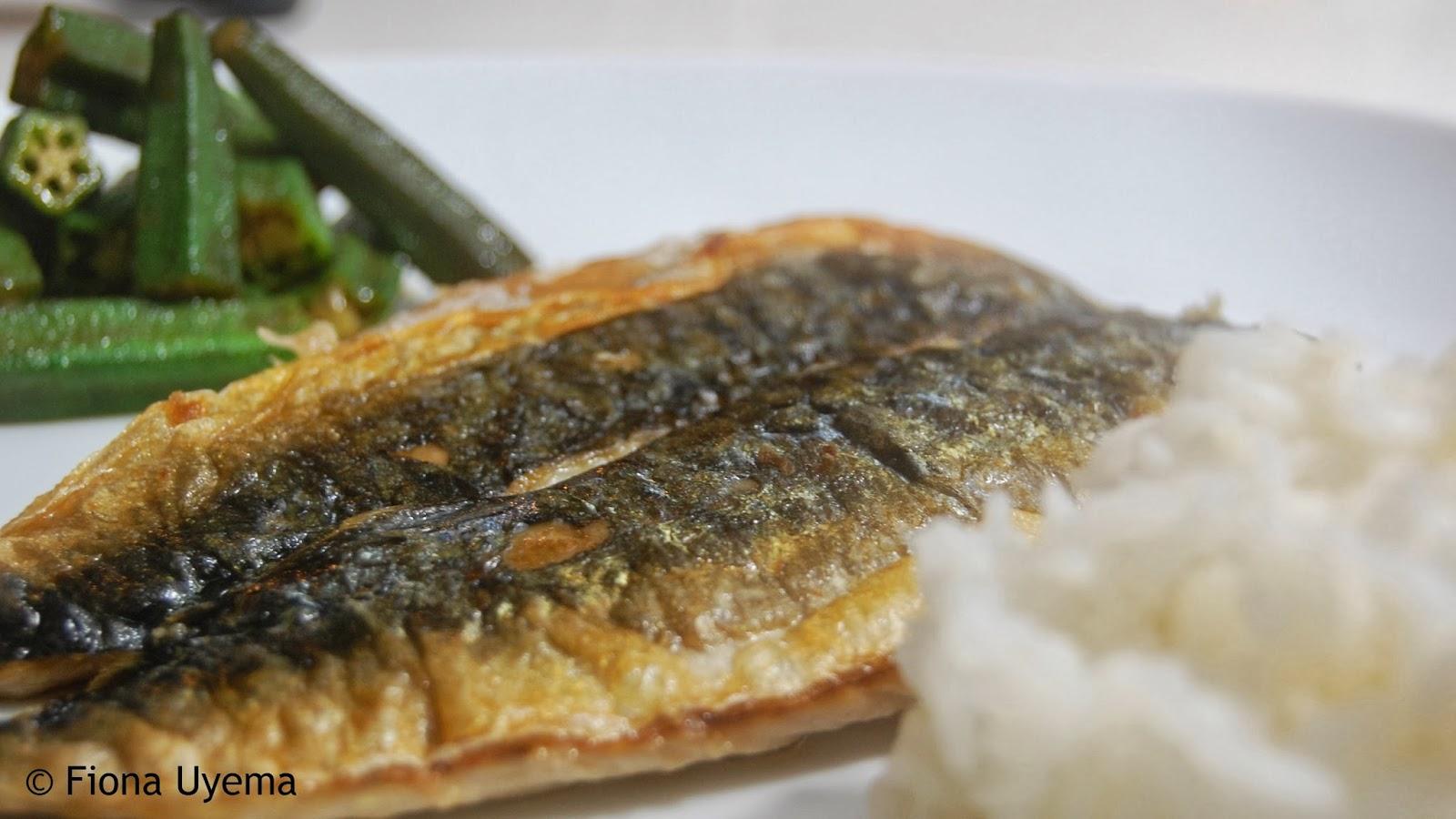 Fiona 39 s japanese cooking saba shioyaki grilled mackerel for How to cook mackerel fish