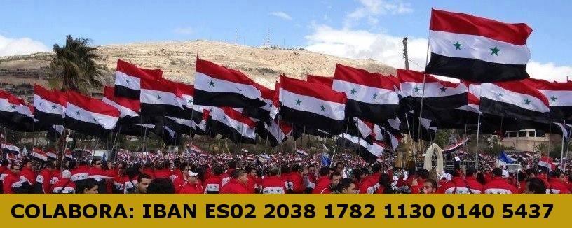 Colabora con el Frente europeo de solidaridad con Siria